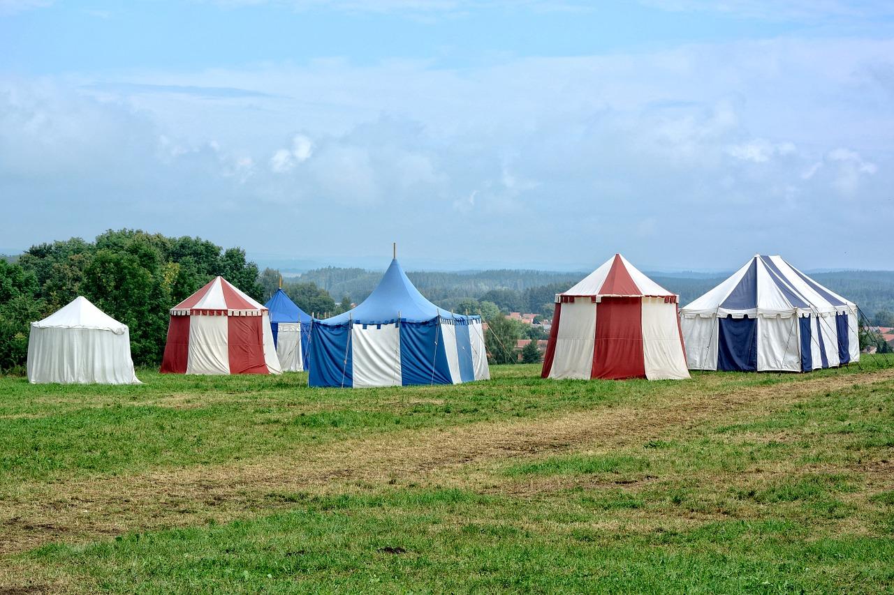 Wanneer party tenten gebruiken?